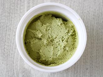 桑の葉ホイップクリーム