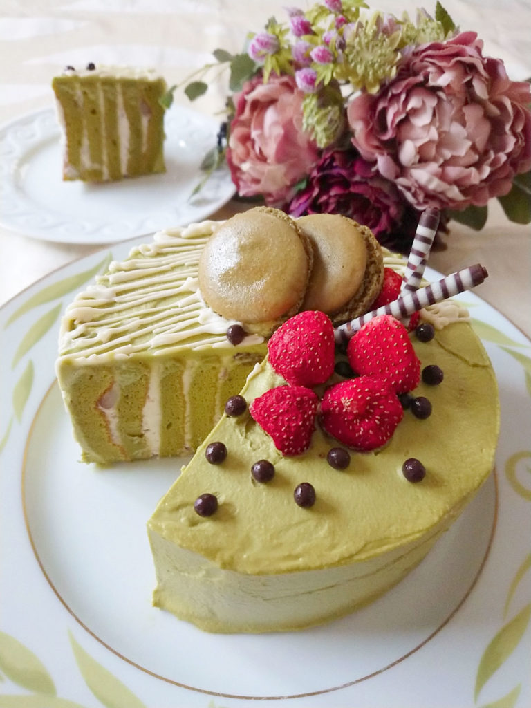 モリンガチーズケーキ